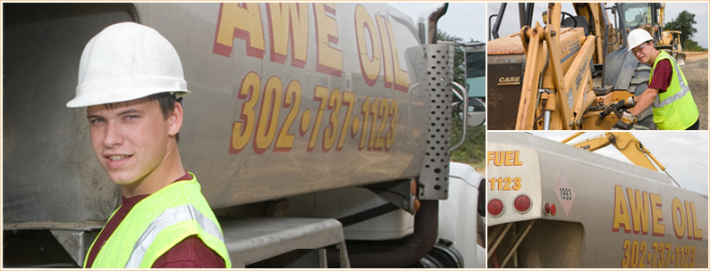 Deisel fuel delivery from Awe Oil Inc.