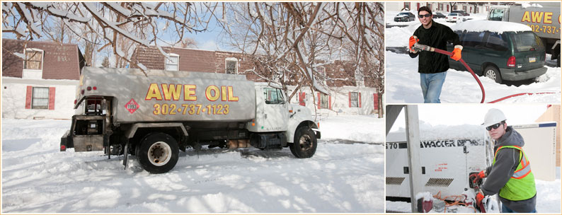 heating oil delivery from Awe Oil Inc.